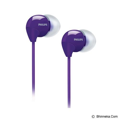 PHILIPS In-Ear Headphones [SHE 3590PP] - Purple - Earphone Ear Monitor / Iem
